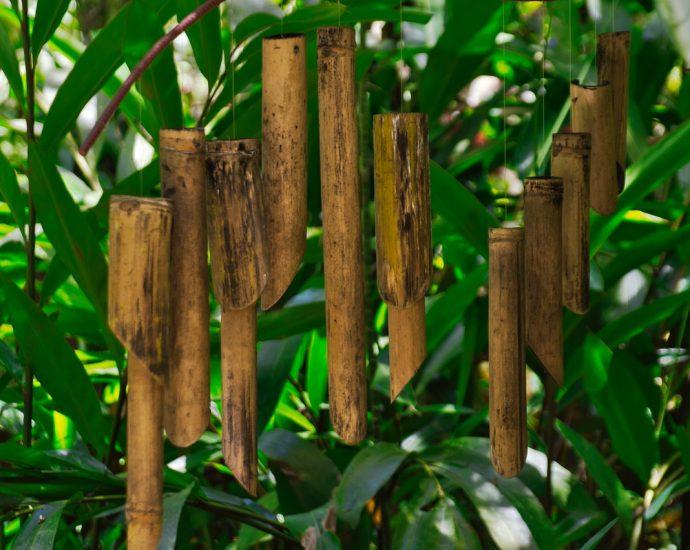Wattenstaafjes van Bamboe