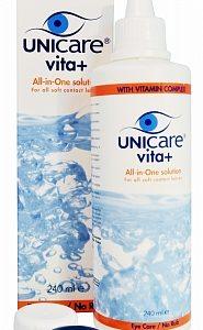 Unicare Lenzenvloeistof Vita Alles-in-een Voor Zachte Lenzen Met Dexpanthenol